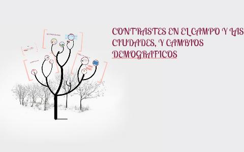 Contrastes En El Campo Y Las Ciudades Y Cambios Demografico By Vik