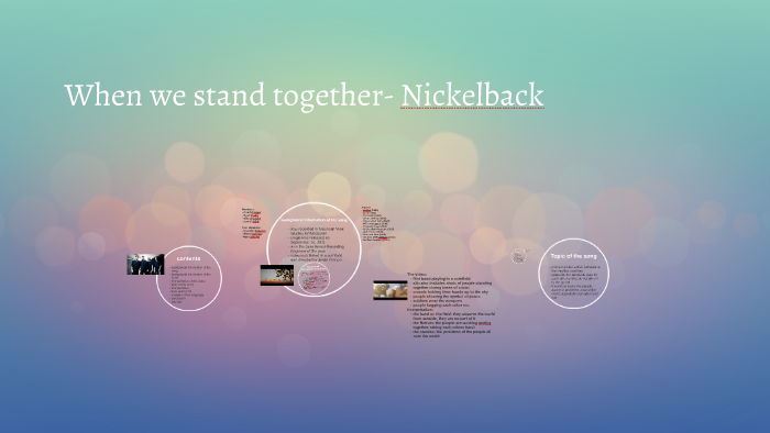 download nickelback when we stand together