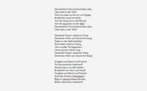deutsche hymne