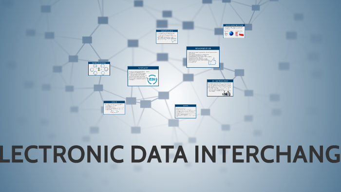 Electronic Data Interchange By Oliwia Kleybor On Prezi