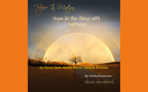 emily dickinson hope is the thing with feathers analysis
