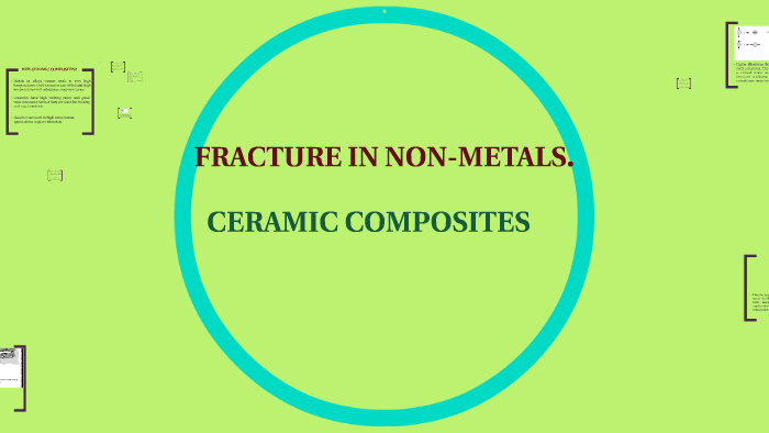 Fracture of Nonmetals and Composites