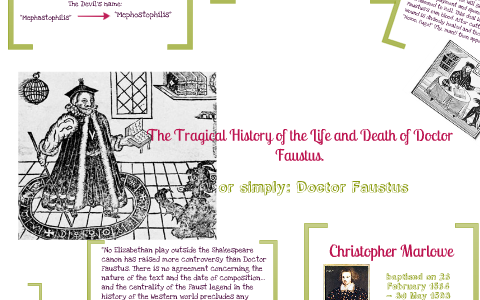 theme of doctor faustus by christopher marlowe