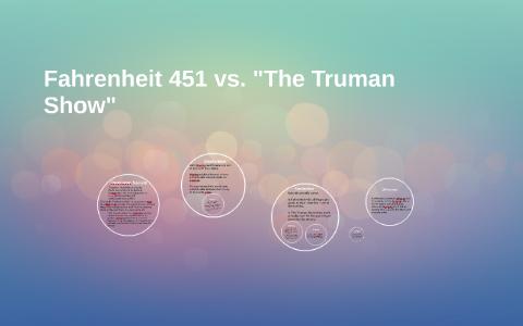 Fahrenheit 451 compare and contrast ana