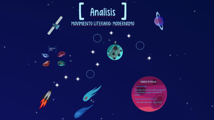Analisis Del Modernismo Poema Para Entonces By Irving