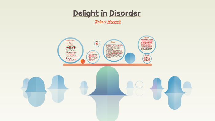 delight and disorder poem