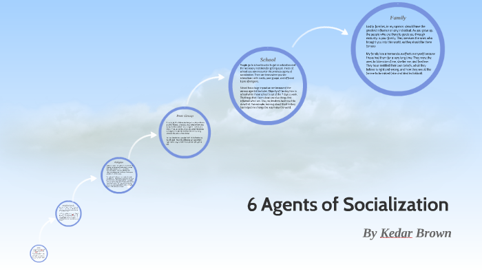 agents of socialization sociology