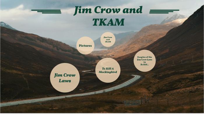 to kill a mockingbird jim crow laws