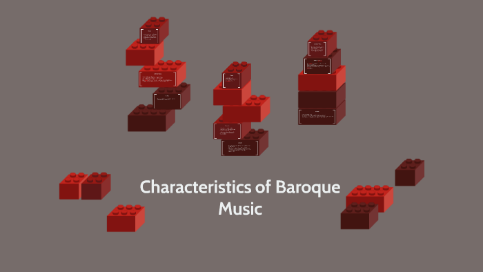 baroque melodies are often