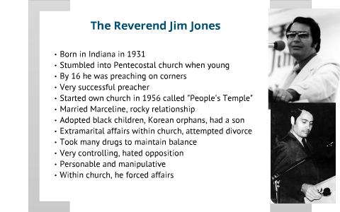 Reverend Jim Jones by Aaron Horton on Prezi
