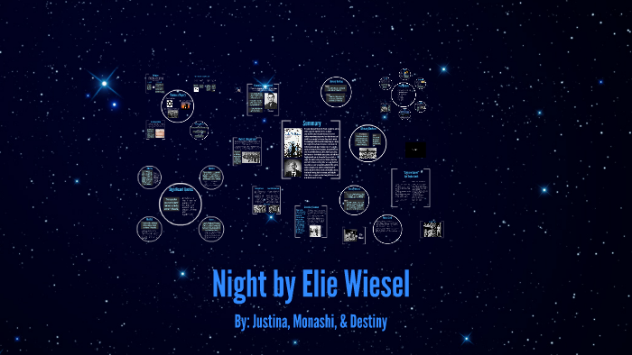 Night By Elie Wiesel By Demontina Calhothandi On Prezi