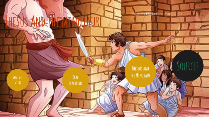 Theseus And The Minotaur By Marlon Portillo On Prezi Next