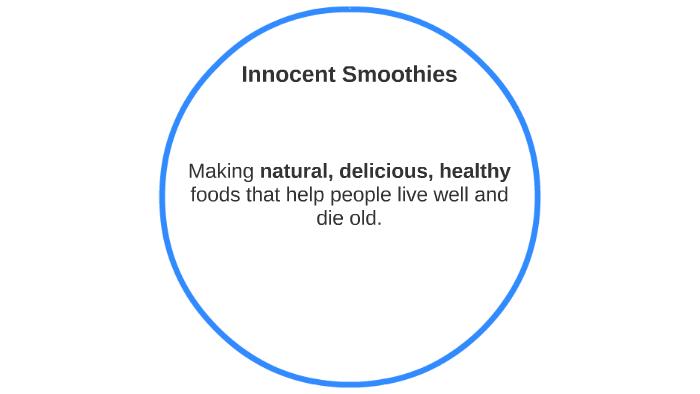 innocent smoothies swot analysis