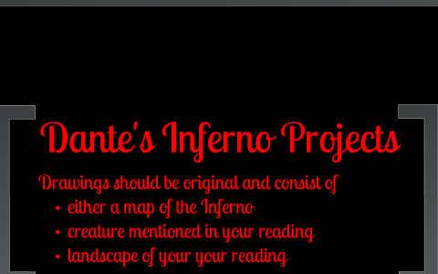 Dante S Inferno Visual Representatons By Bryan Wilson On Prezi
