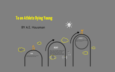 to an athlete dying young literary analysis