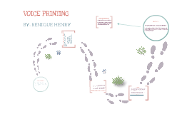 Voice Print Analysis By Renique Henry