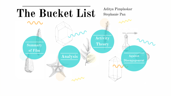 the bucket list character analysis