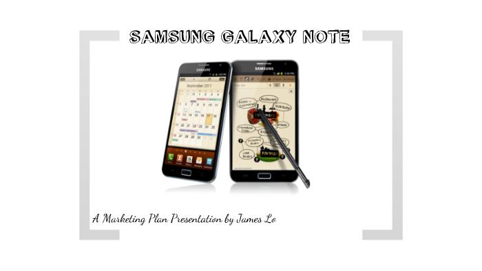 marketing plan of samsung