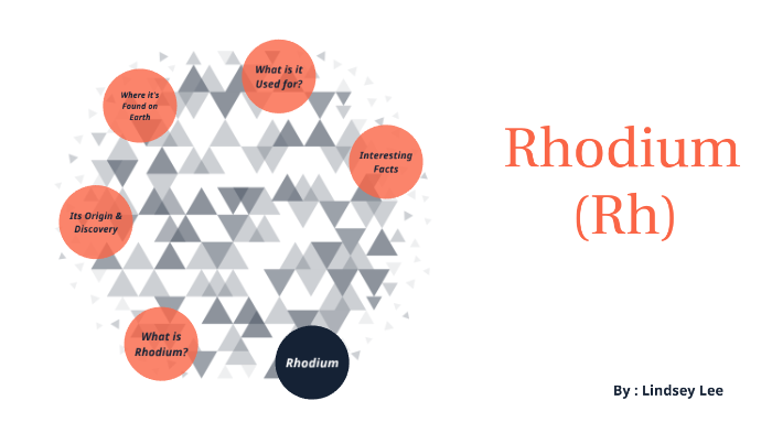 Rhodium (Rh) Element Project - Lindsey Lee by Lindsey Lee on Prezi Next