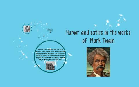mark twain satire examples