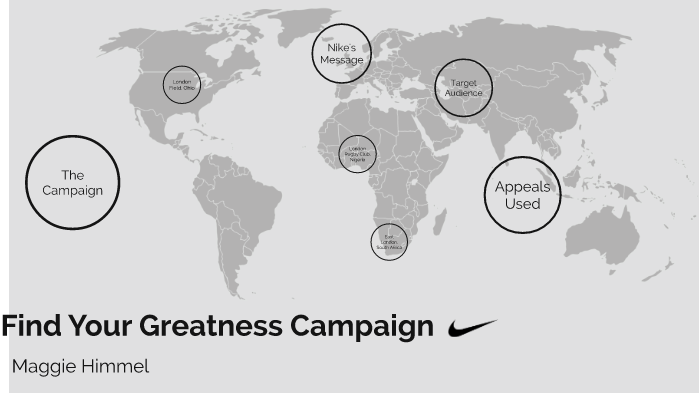 Find Your Greatness Campaign By Maggie Himmel