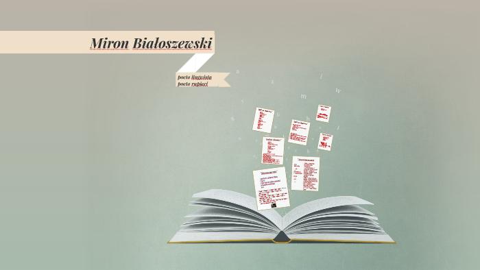 Miron Białoszewski By Monika Zalas On Prezi