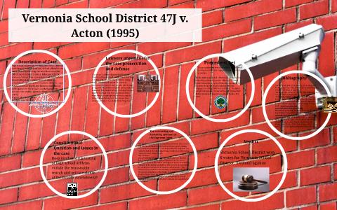 vernonia school district v acton case brief