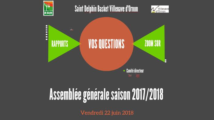 Assemblée Générale Saison 20172018 By Camille Costa On Prezi
