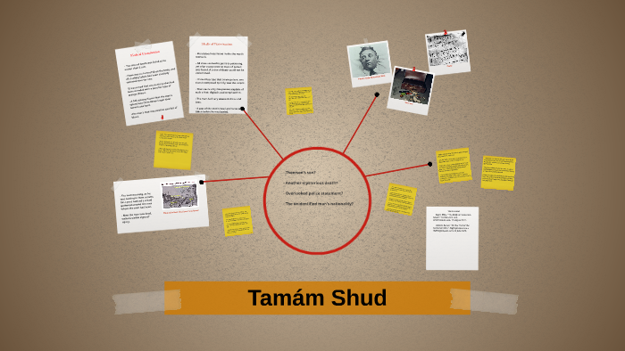 Tamam Shud by gabbi jones on Prezi