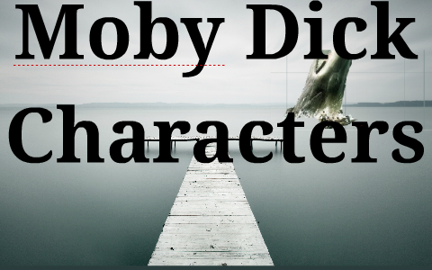 moby dick characters