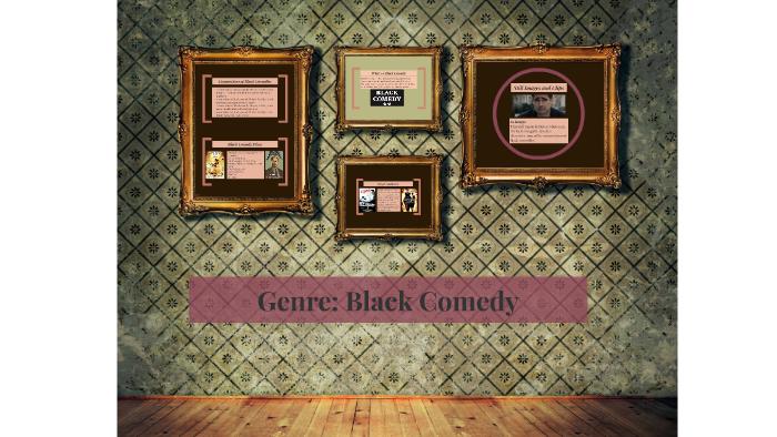 black comedy genre