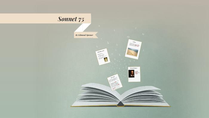 sonnet 75 edmund spenser paraphrase