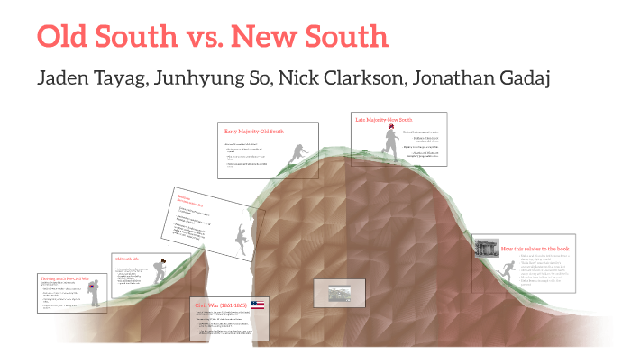 OLD SOUTH, NEW SOUTH, NO SOUTH