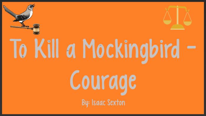 to kill a mockingbird bravery