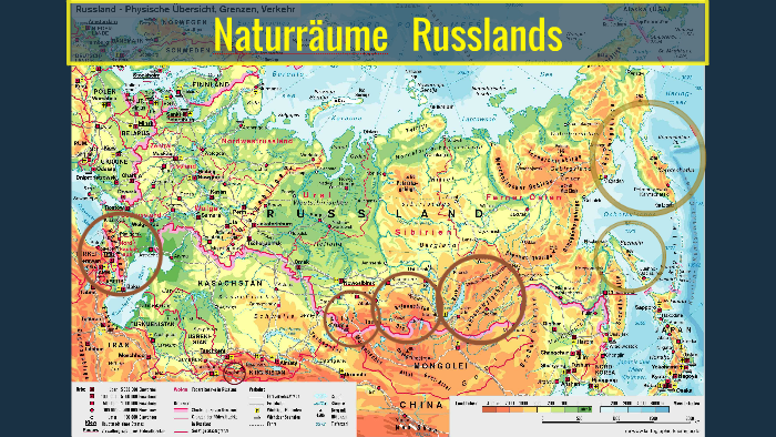 Naturraume Russlands By Thao Quynh Ninh On Prezi Next