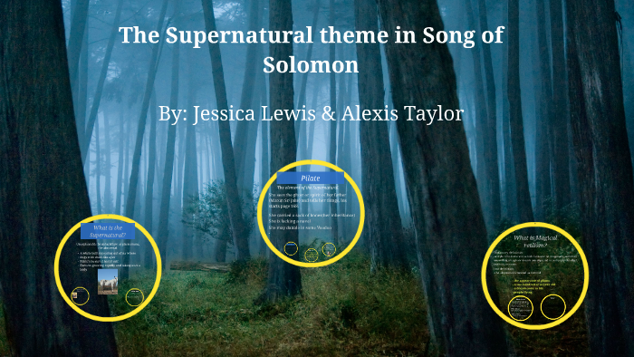 supernatural theme