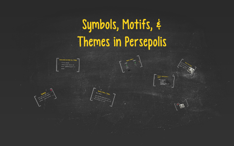 Themes Motifs And Symbols In Persepolis By Cameron Vandenboom