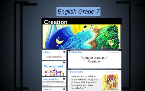 creation of the world panayan version