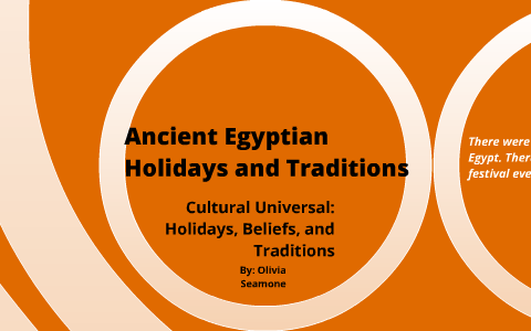Ancient Egyptian Holidays and Traditions by Olivia Seamone on Prezi