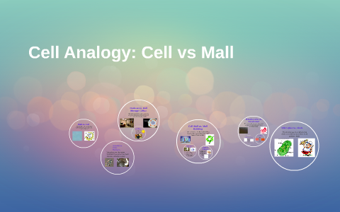 Cell Analogy Cell Vs Mall By Kaitlyn Draper On Prezi