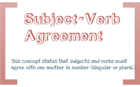 Subject Verb Agreement English Project By Marina Hawkins On Prezi