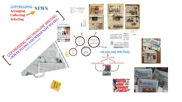 copyreading and headline writing tips