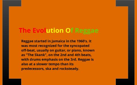 Evolution Of Reggae by jake tebble on Prezi