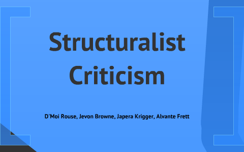 advantages of structuralism