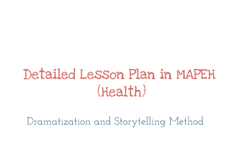 lesson plan inductive method