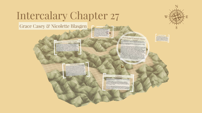 intercalary chapter