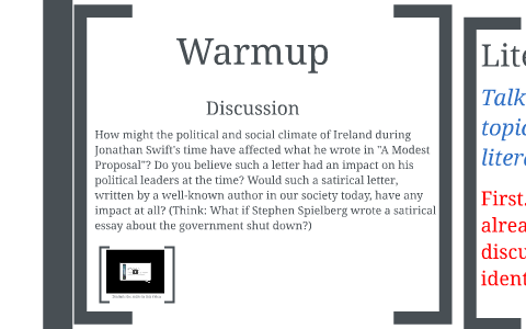 Ib World Lit Day 16 October 8 Satire And Its Various Forms