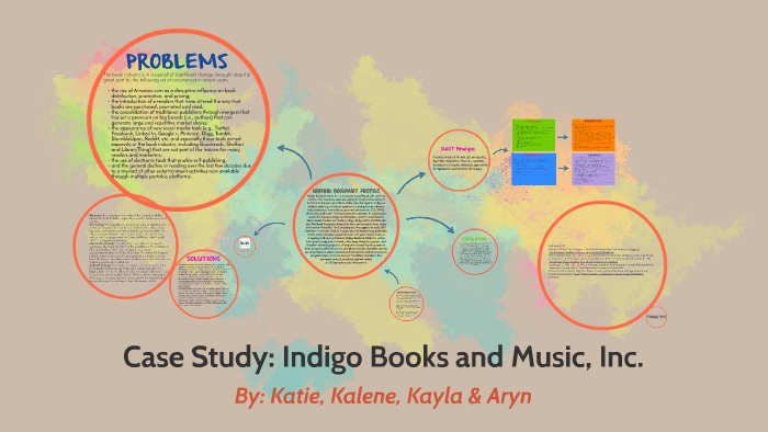 Case study indigo books and music