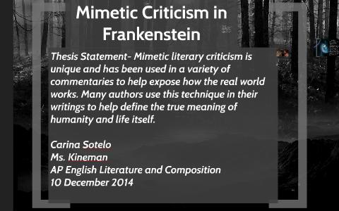 define thesis in literature