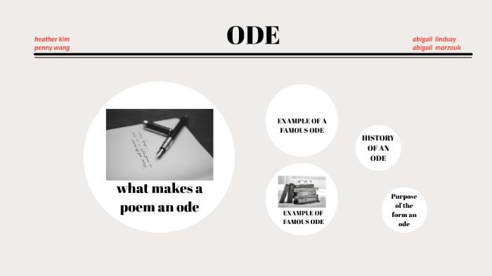 Ode By Heather Kim On Prezi Next